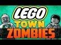 LEGO TOWN ZOMBIES ★ Left 4 Dead 2 (L4D2 Zombie Games)