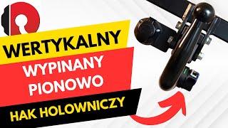 Hak holowniczy automat wypinany pionowo (wertykalny)