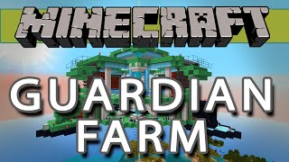 Massive Guardian Farm - Minecraft Showcase