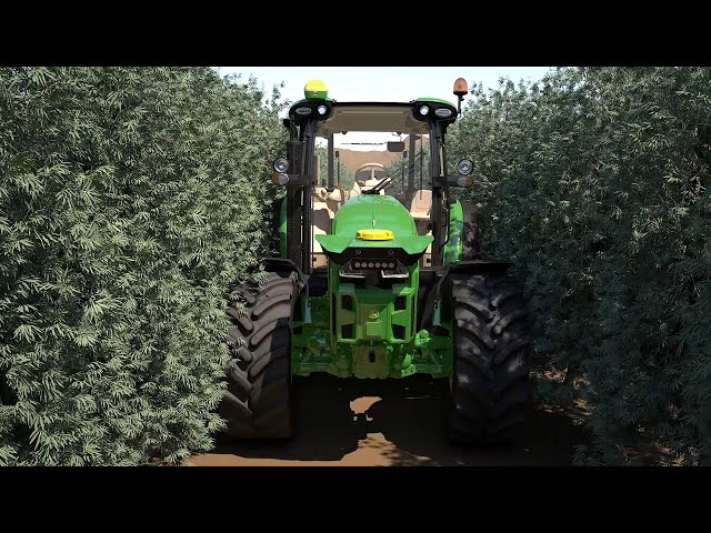 Semi Autonomous Tractor - Future of Farming | John Deere