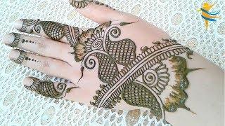 Arabic Mehndi Design - Simplicity and creativity