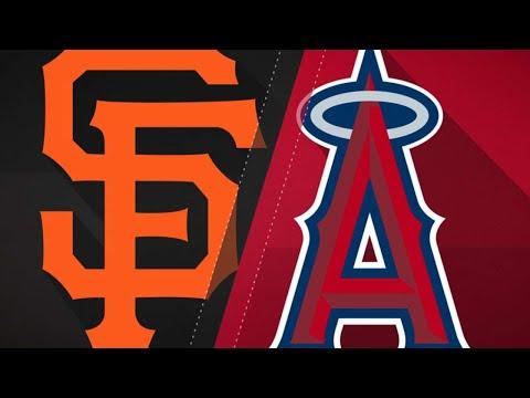 Belt's three-hit effort powers the Giants - 4/22/18