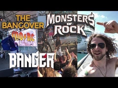 Daniel Dekay sets sail on the Monsters of Rock Cruise | Bangover EP2