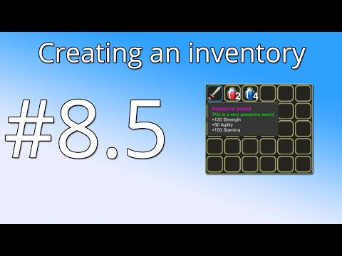 Unity Tutorial: Creating an inventory(PART 8.5) - Dictionary