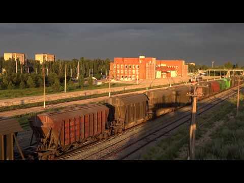 Проследование грузового поезда на станцию Балаково