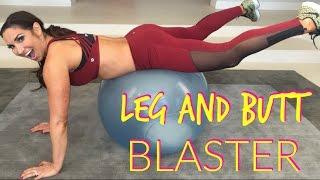 Leg and Butt Blaster Workout | Natalie Jill