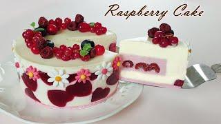 라즈베리 치즈케이크 만들기/ How to make raspberry cheesecake / Eggless Recipe / Cheesecake Recipe