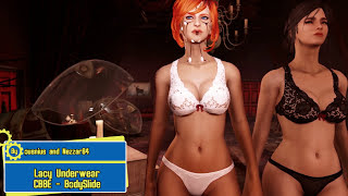 Fallout 4 Mod Review 69 - 69 69 Lacy Underwear and BIGGER ASSETS 69 69 - Boobpocalypse