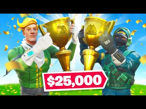 How Fresh and I WON $25,000 Playing Fortnite!