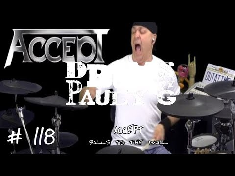 Accept - Balls to the Wall [Drum cover] by Paul Gherlani