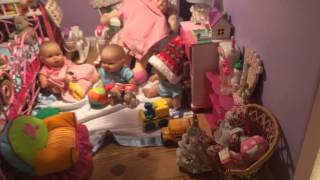 American Girl Doll House Christmas Tour