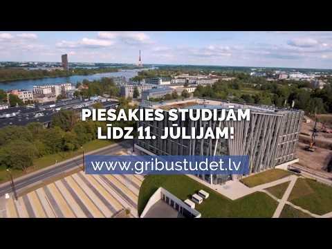 Studijas Latvijas Universitātē - Tavu panākumu atslēga! GribuStudet.lv