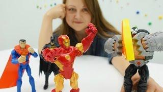 Супергерои против Бейна. Видео для мальчиков