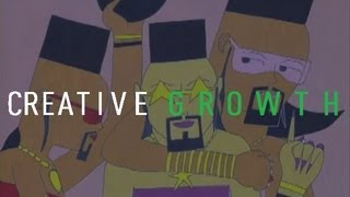 Creative Growth - Gerone Spruill - Chocolate City