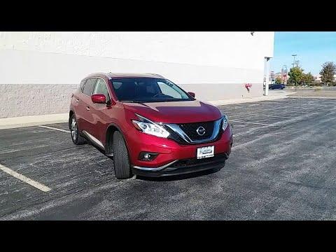 2017 Nissan Murano Niles, Skokie, Chicago, Evanston, Park Ridge, IL SP10655