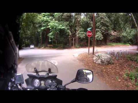 Around the US on a Motorcycle #16: Cambria, CA to camping at Big Sur!