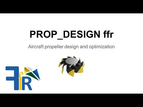 PROP_DESIGN ffr: Aircraft propeller design and optimization