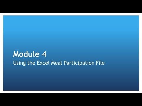 Meal Participation Lesson 4
