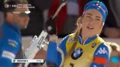 Biathlon WM 2020 in Antholz - Verfolgung der Damen - Komplettes Rennen - Tag 4