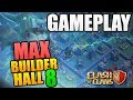 MAX BUILDER HALL 8 GAMEPLAY! Clash of Clans Update - New Troop Super PEKKA Attacks - Max BH8 Attacks