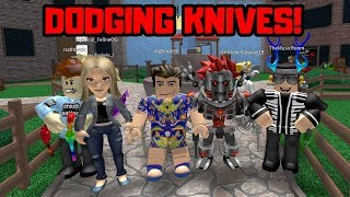 KNIFE THROWING EXPERT! Roblox MURDER MYSTERY 2