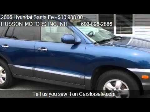 2006 hyundai santa fe limited 3 5l auto for sale in for Husson motors salem nh