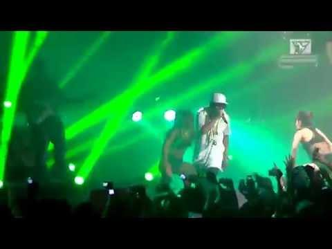 Mano Al Aire - Yandel - Luna Park 2014 -HD-