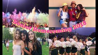 a week in my life: senior homecoming vlog 2018!!
