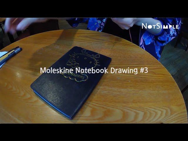 Moleskine Notebook Drawing #3
