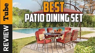 ✅Patio Dining Set: Best Patio Dining Set 2019 (Buying Guide)
