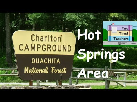 full hookup campgrounds in arkansas