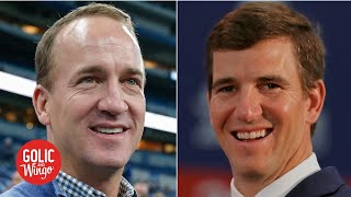 Peyton Manning talks Eli's retirement, Super Bowl wins and NFL legacy | Golic and Wingo