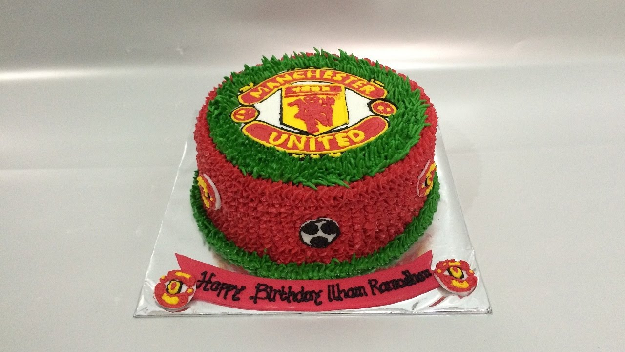 Manchester United Birthday Cake Images