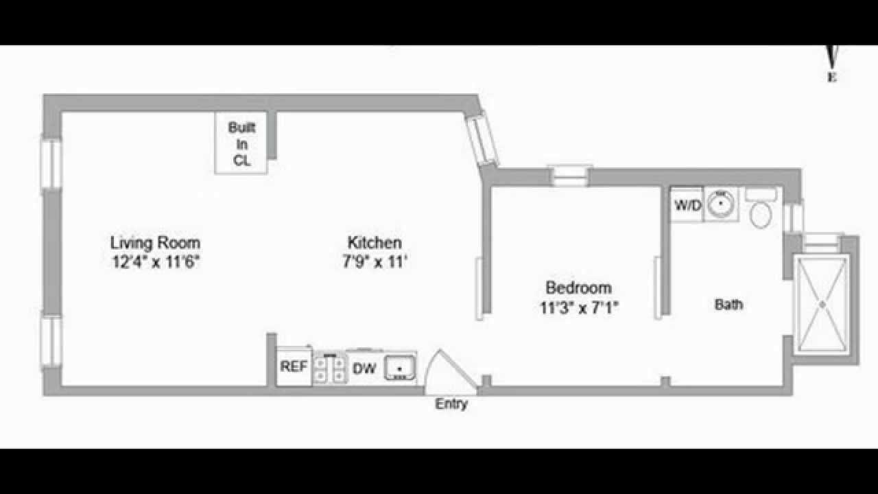 problems with floorplans one bedroom apartment new york youtube