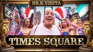 Sr. K Visita   Times Square, NY