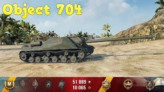 Слепая ярость. об.704 тащит бой (HDКлиент World of Tanks)