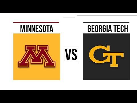 2018 Quick Lane Bowl Minnesota vs Georgia Tech Full Game Highlights