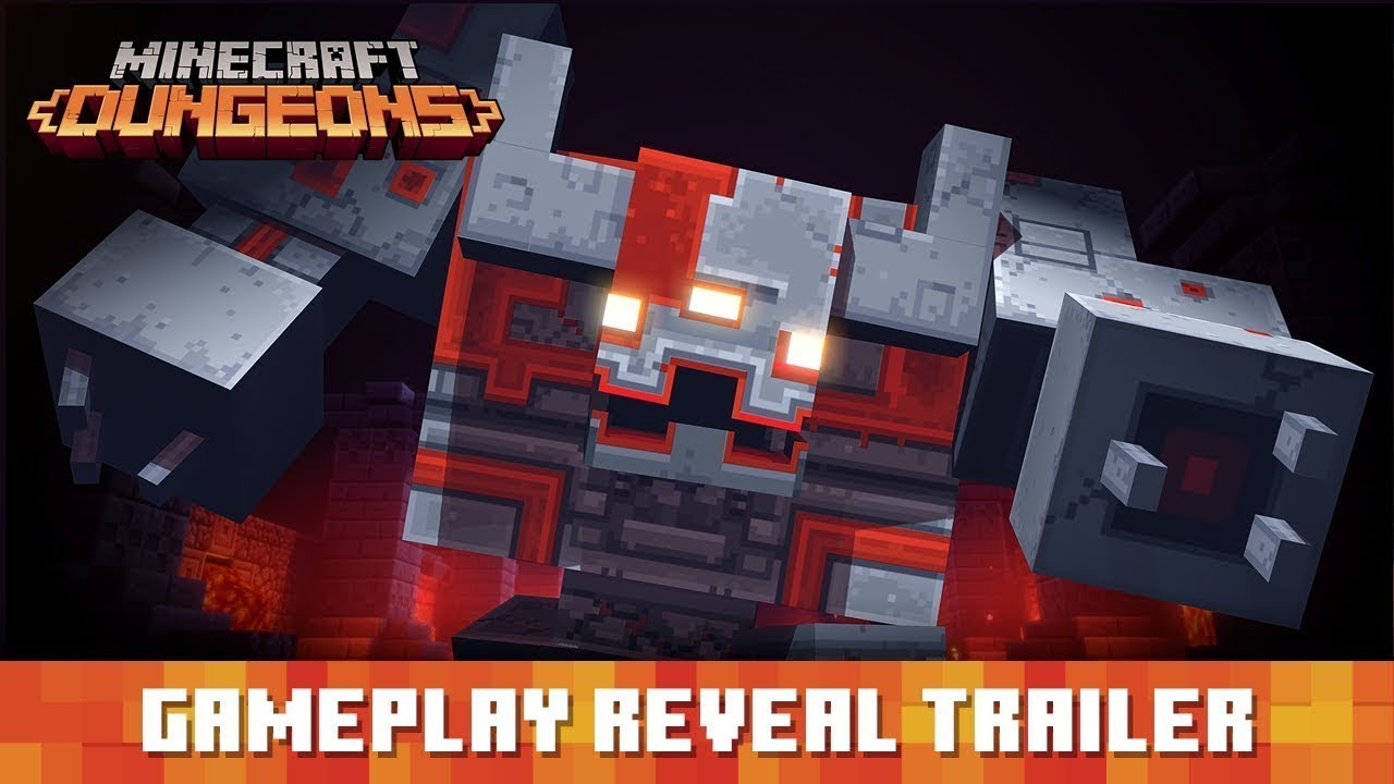 Minecraft Dungeons Gameplay Trailer E3 2019 Youtube