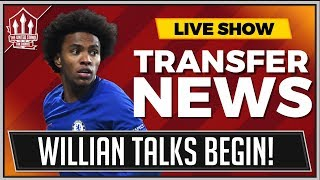WILLIAN Transfer Talks! FRED Deal OFF? Man Utd Transfer News