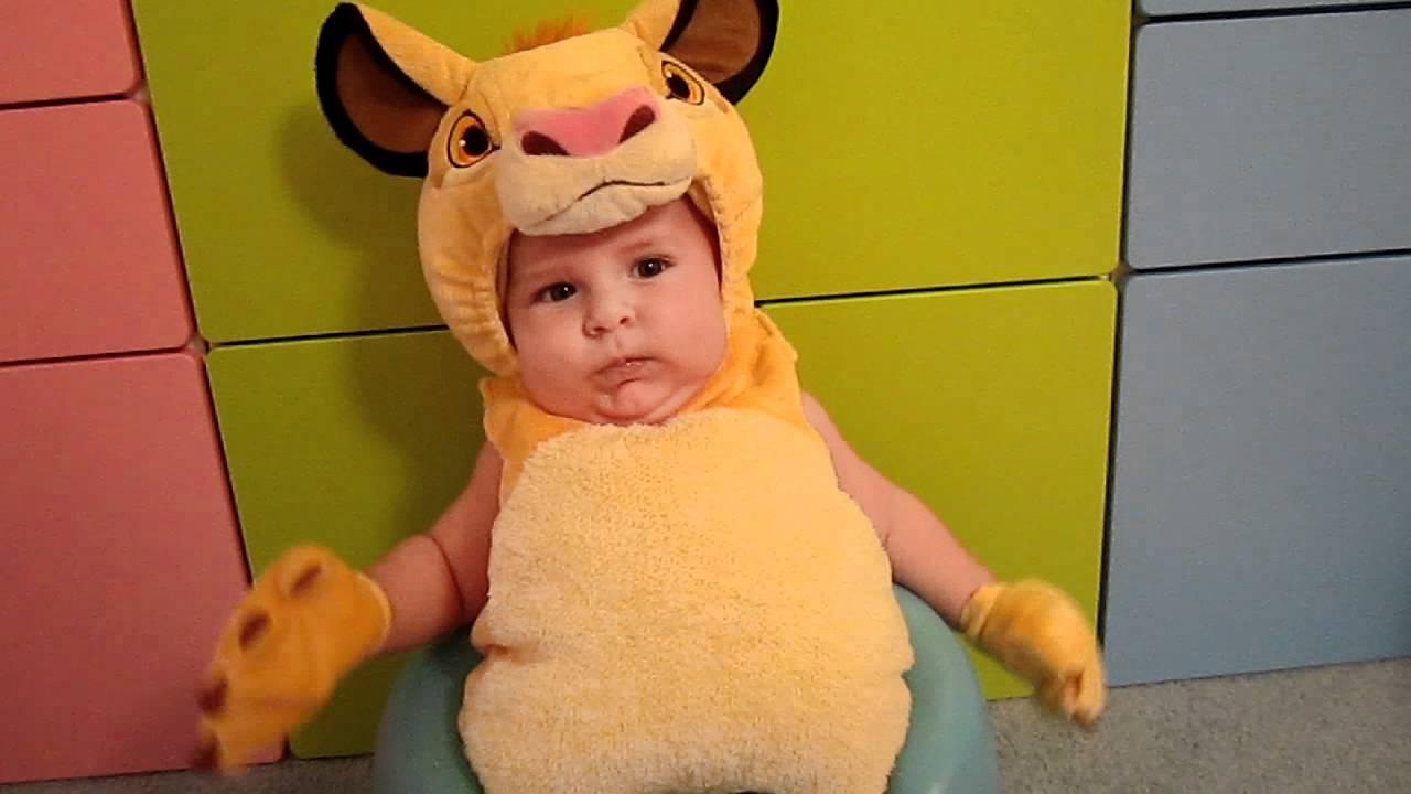 Simba Halloween Costume for baby - Lion King - from Disney Store - YouTube & Simba Halloween Costume for baby - Lion King - from Disney Store ...