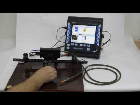 ISONIC 3505: XY Raster Scanning - Corrosion Mapping - Airborne Ultrasound Encoder
