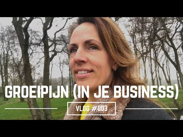 Groeipijn in je Business | Liesbeth Besamusca VLOG #003