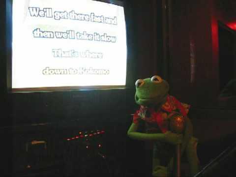 Kermit The Frog sings