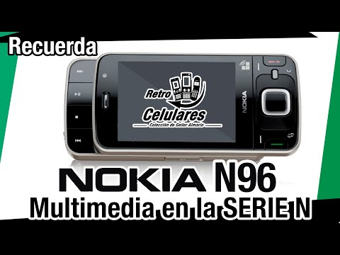 NOKIA N96 Colección Celulares Clásicos, antiguos o viejos