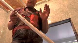 Пластиковый потолок и панели ПВХ в ванной комнате (фото и видео)