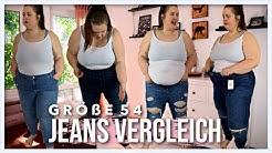 LIVE TEST - JEANS GRÖßE 54 / 56 | Kann ich als Plussize Jeans Hosen tragen? |  Vanessa Nicole