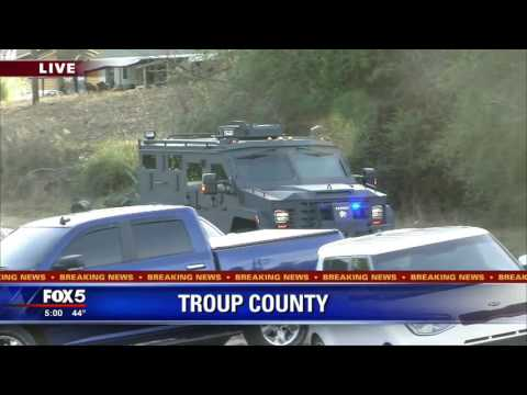 Suspect accused of shooting Troup County deputy in custody