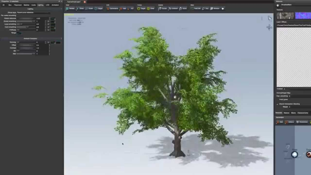 Tutorial 3: Hidden Features in Unity5 (SpeedTree Modeler)