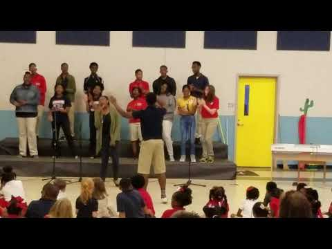 Oh Happy Day performed Morehouse Magnet School 8th grade