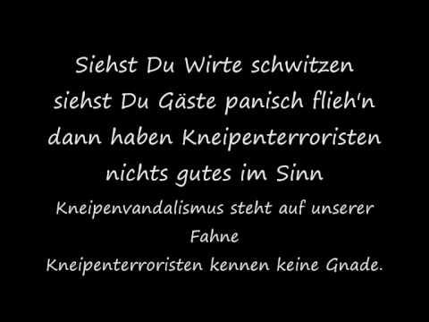 Böhse Onkelz- Kneipenterroristen (Songtext)